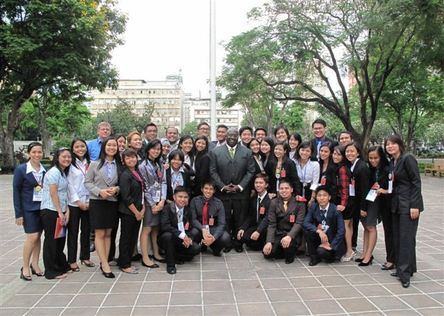 Enderun Student Participates in AmCham's 9th Business Orientation Program