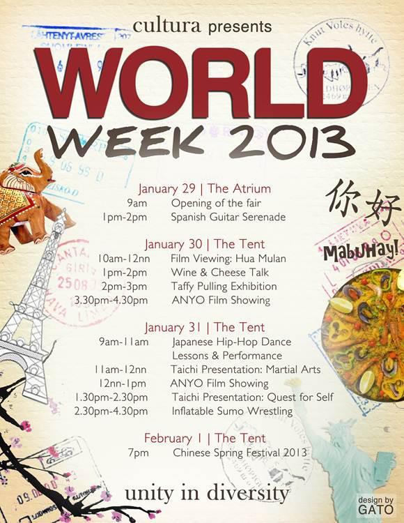 World Week 2013 by Cultura - 01