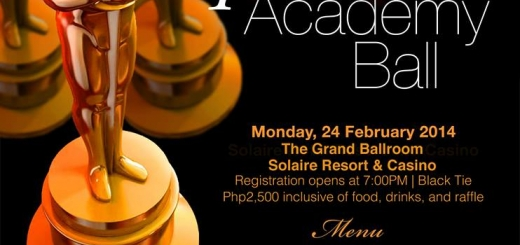 4th Academy Ball Poster