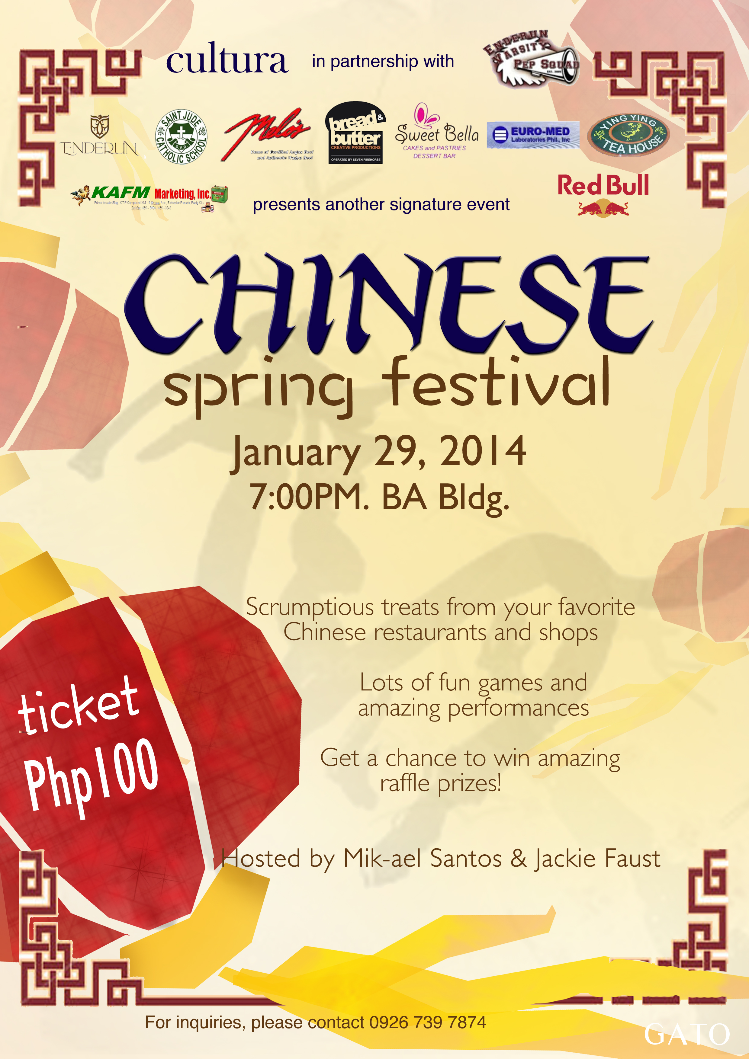 Chinese Spring Festival 2014 Ink Enderun