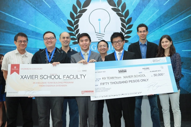 Xavier School Wins NBI 2013