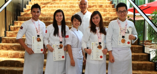 Four Enderun Colleges students namely Calvin Cu, Noel Mauricio, SafaRodas, and Monica Yang won the Battle of the IACC Trophy Challenge of the Asian Culinary Challenge in Pahang, Malaysia.