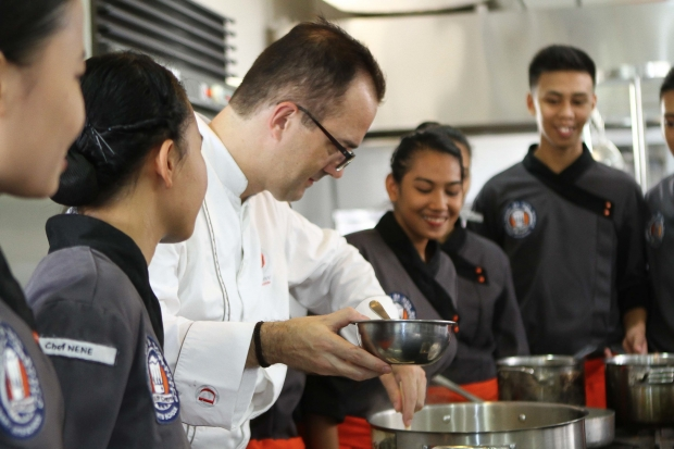 Following an 8-month program in the Tuloy Foundation campus, the students will be exposed to further training at the Ducasse Institute Philippines for 3 months.