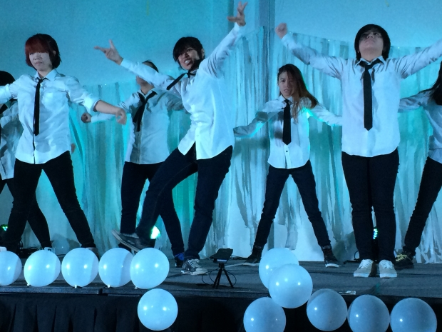 K-Pop Cover Performaers from the Korean Cultural Center Manila