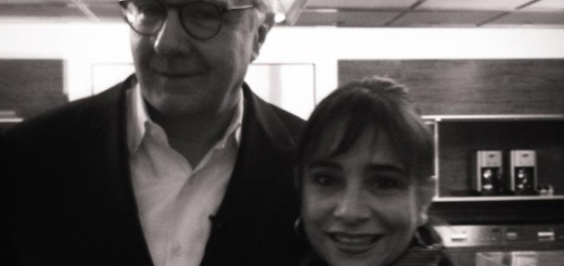 Sandra Avila with 20 Michelin-starred Chef Alain Ducasse