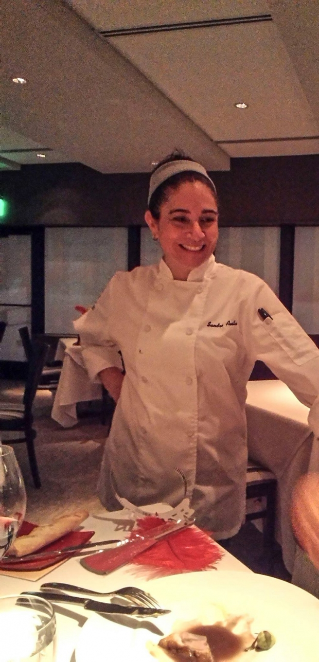 Sandra Avila was a former 15-month Certificate in Culinary Arts student. She is now the co-owner and co-creator of Le Cep Restaurant in Texas, USA