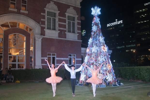 """Tuloy Foundation's ballet group performed excerpts from the famous ballet, """"The Nutcracker."""""""
