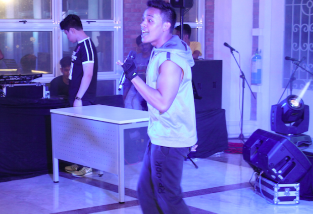 Benz Zabala Lip-Syncing 'Wanna Be' by Spice Girls