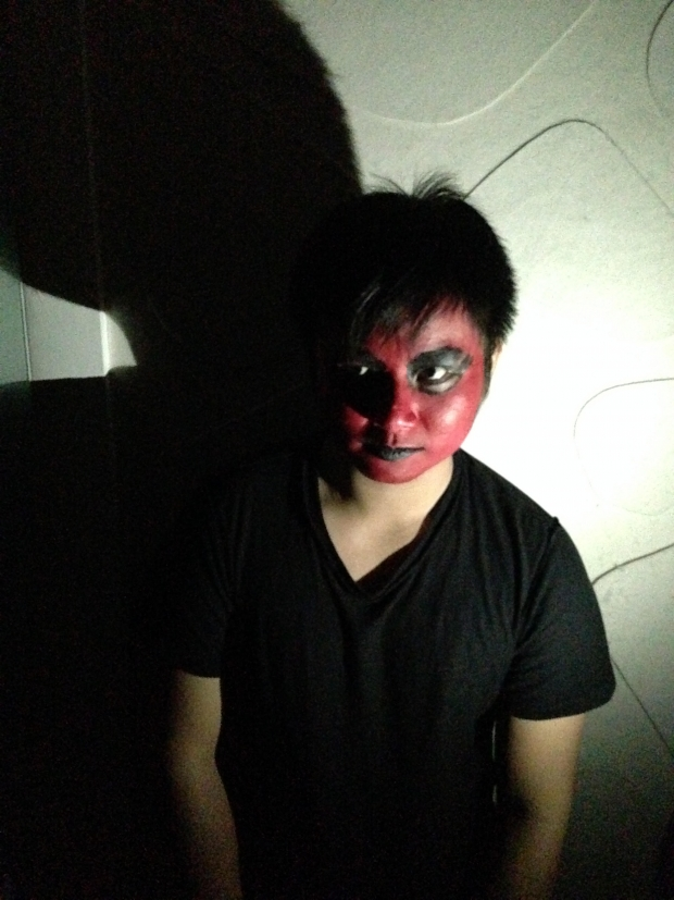 One of the many terrifying actors of Anyo (Photo by Mehetabel Jamina Magpantay)