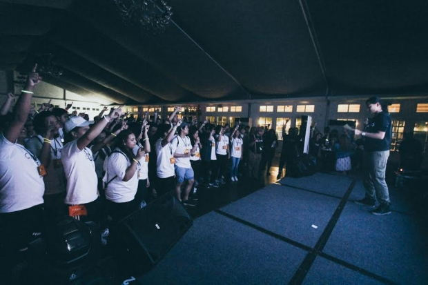 Students enjoy CampUs, the first ever overnight event at Enderun Colleges. (Photo by Dany Papio)