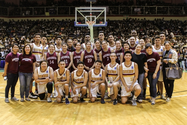 The Men's and Women's Basketball Teams of Enderun Colleges are ready to bring it on in the 16th season of NAASCU.