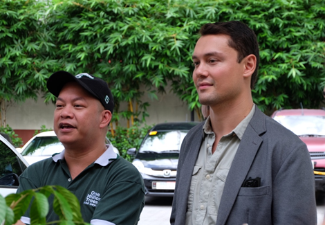 Mr. Macky Maceda and Mr. Bryan McClelland, co-directors of the Sustainability Department (Photo by Adj Regidor)
