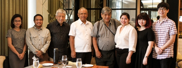 In photo (L-R): Ms Grant Mesa, UE Law student and niece of Mayor; Erwin Lizarondo, Enderun Development Economics Faculty; Edgardo Rodriguez, President of Enderun Colleges; Honorable Mayor Fernando L. Mesa; Carlos Arnaldo, Dean of General Education: Sarah Navarro; Enderun Faculty and the Project Coordinator for the Department of Saemaul Studies and Economic Development; Joselle Felicano, Assistant to the President; Ho Woong Yoo, Asst. Project Manager for the Department of Saemaul Studies and Economic Development.