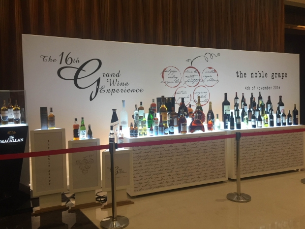 Enderun at the Grand Wine Experience 2016