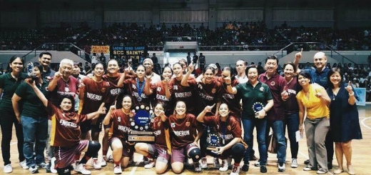 Enderun Colleges' Women's Basketball Team emerged as champions in their maiden season in NAASCU Season 16.