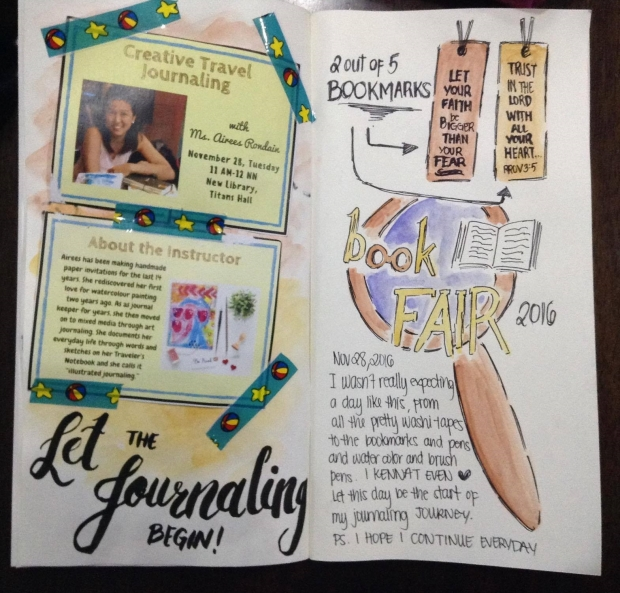 Bella Del Rio's take home journal