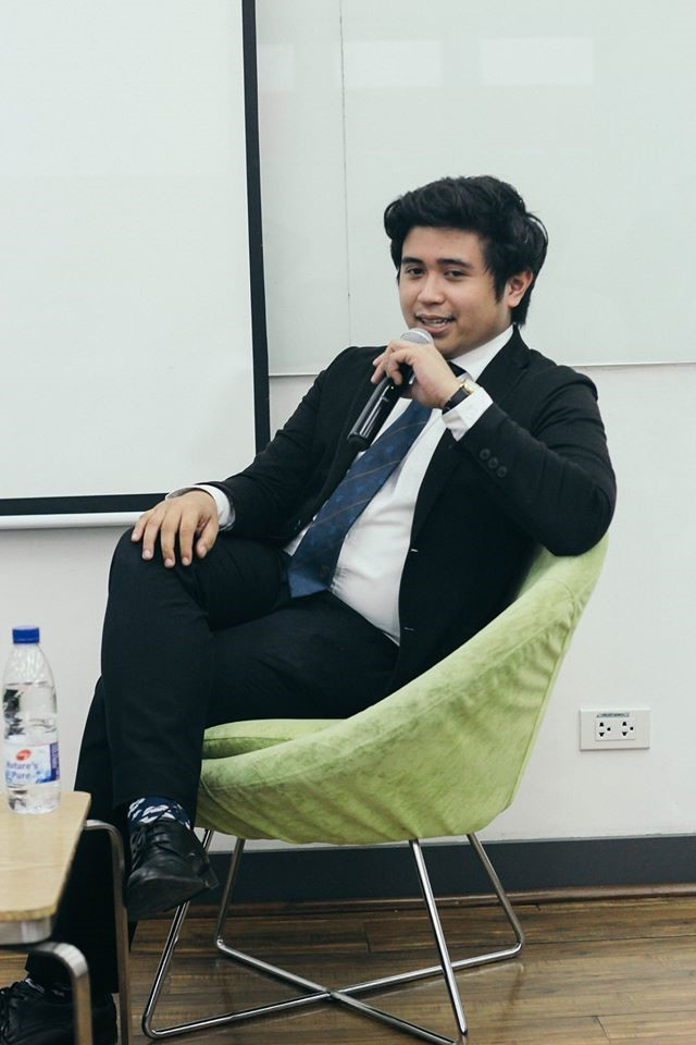 Fil Garciano is taking up BS Entrepreneurship at Enderun Colleges.