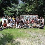 LP members at the GK Enchanted Farm with their counterparts from Mikunigaoka High School