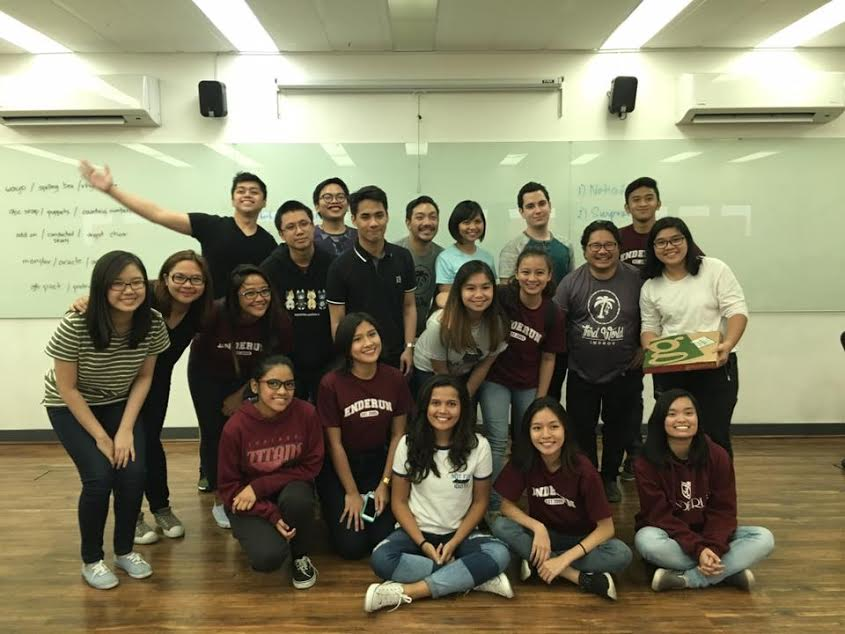 A fun-filled Improve Workshop for LP facilitated by SPIT's Gabe Mercado, Thea Yrastorza, and Dingdong Rosales.