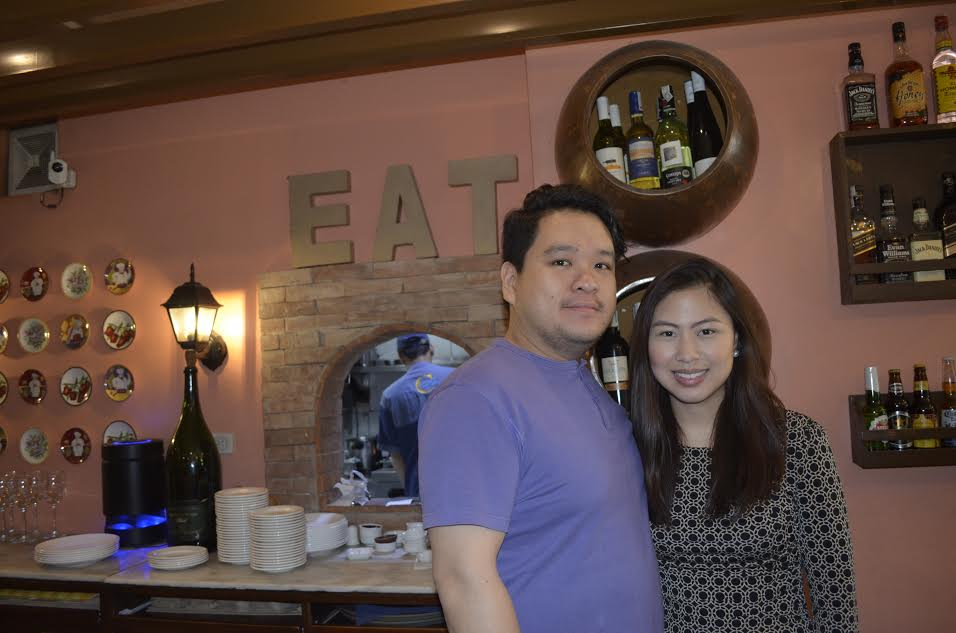 Chef Owners and Enderun grads, Paco Lao and Alexa Alaba