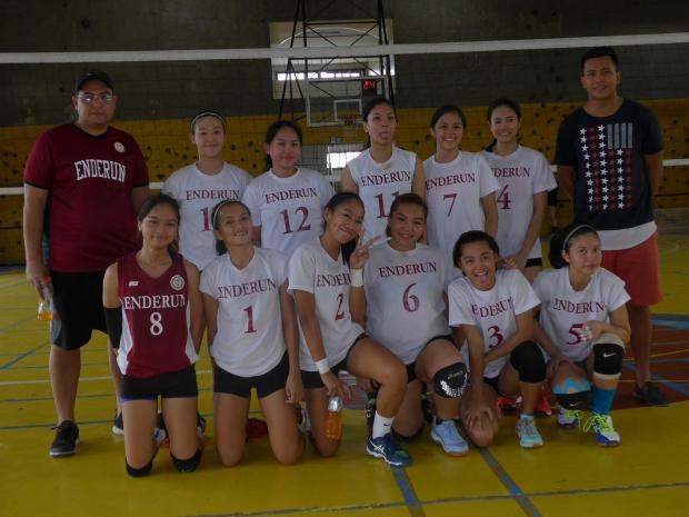 Reinforced Volleyball Team