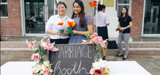 Student organizations set up their own booths and joined in the fun during Titans Week.