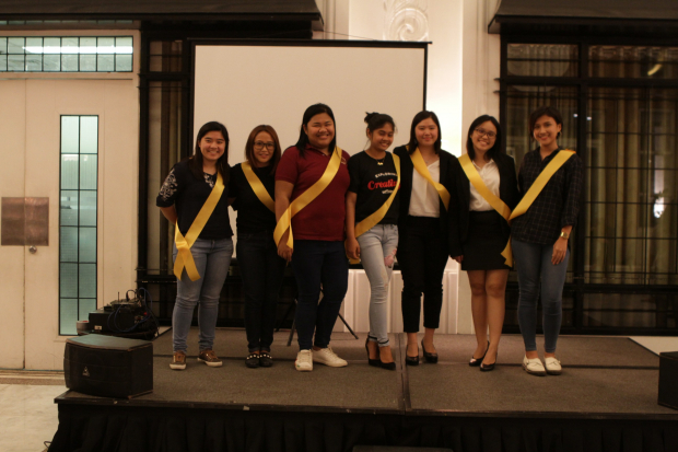 The new officers of the Enderun Entrepreneurship Society (EES)