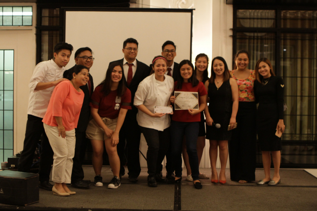 Culinaire was received the awards for Best Community Involvement and Best RSO for SY2017-2018