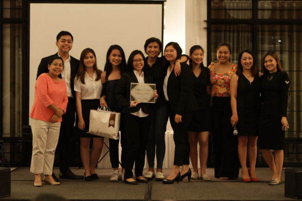 EES was awarded as the Most Proactive EXECOM and the Most Organized Major Event for SY2017-2018 was their Entrep Week