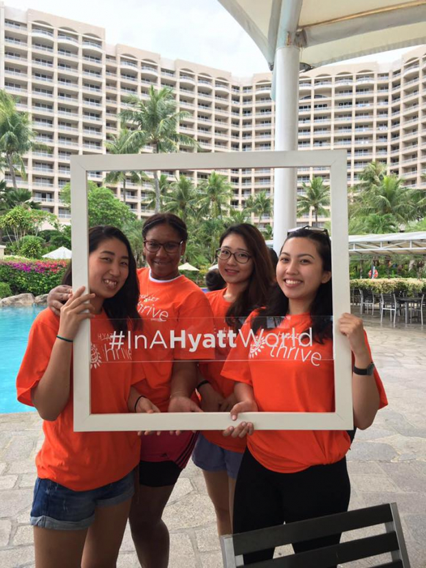 Team building as a Hyatt family