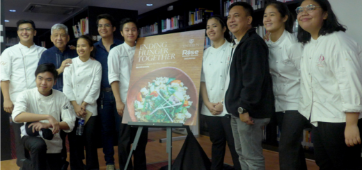 The teams launching the Cook Book, Ending Hunger Together