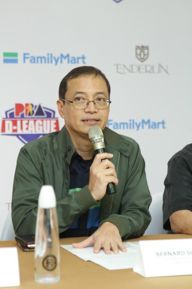 FamilyMart General Manager Bernard Suiza