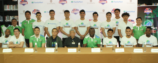 FamilyMart-Enderun officially introduced its team for the PBA D-League on January 31, 2019 at Enderun Colleges in Taguig