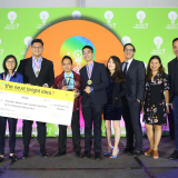 Next Bright Idea 7 Grand Champion Jeemo Team from Saint Jude Catholic School