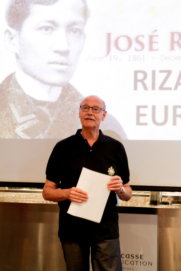 Lucien Spittael, Rizal in Europe