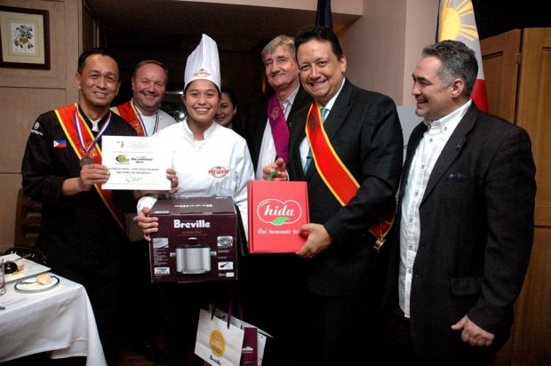 Enderun Colleges Culinary Arts student Ria Garcia won second place in the Young Talents Escoffier competition.