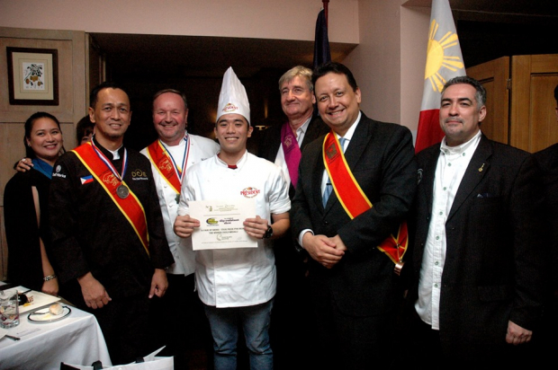 Enderun Colleges Culinary Arts student Don Patrick Baldosano was awarded as the champion.